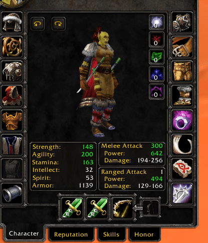 Faerlina PvP - 60 Female Orc Rogue - unreal bnet name - safe account