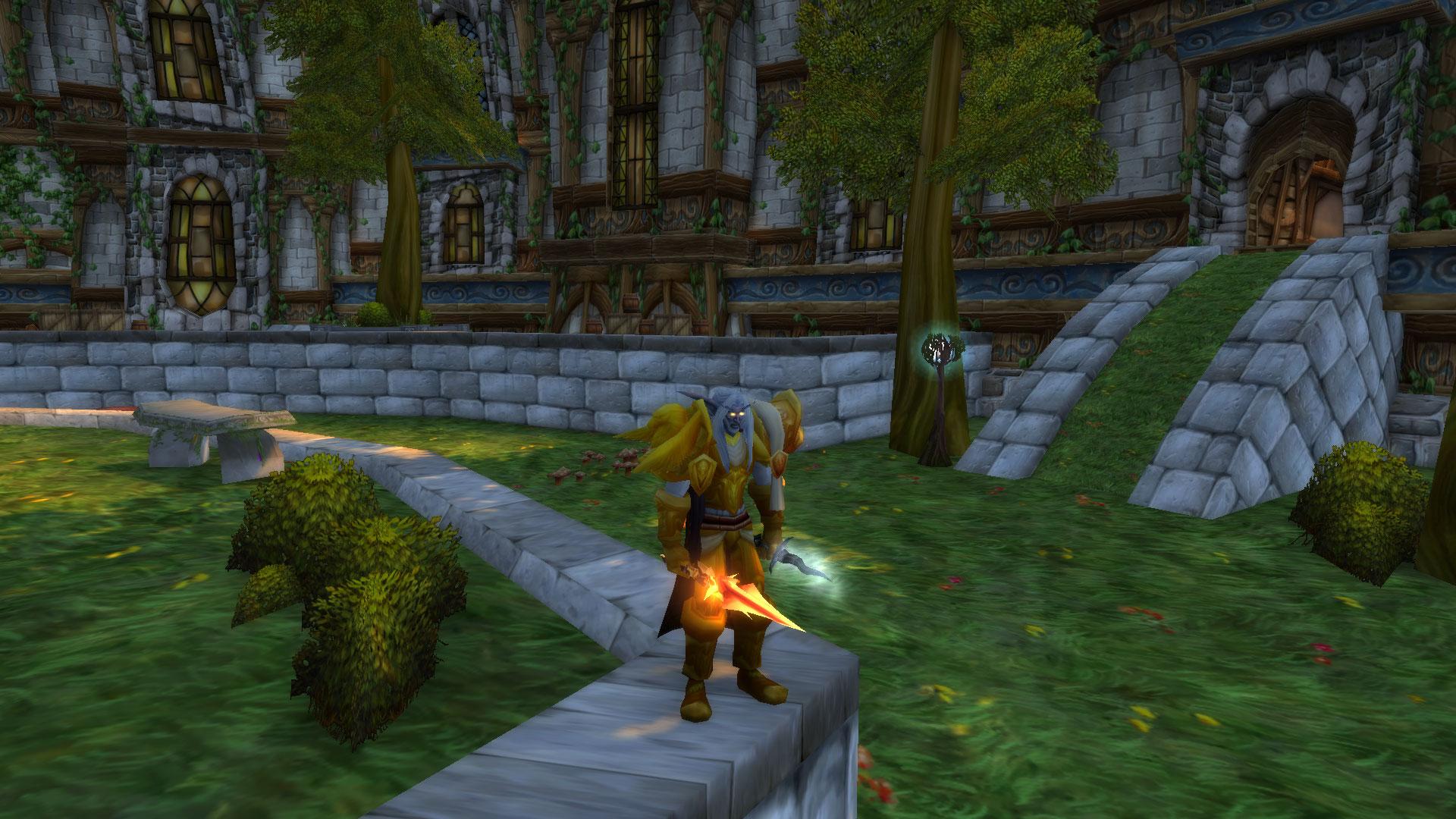 60 Night Elf Male Warrior [R13][Transfer Ready]