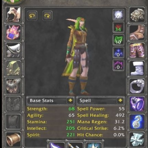 Netherwind PvP - 60 Night Elf female Druid [Safe Account by METAMMO Team]