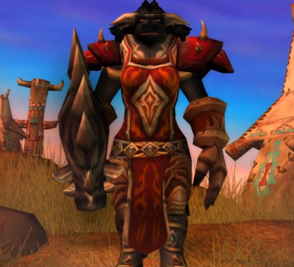 Tauren female Warrior 60