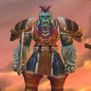 Orc male Warrior 60
