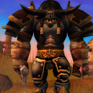 tauren male warror 60