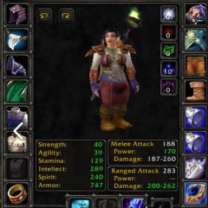 Dwarf female Priest 60