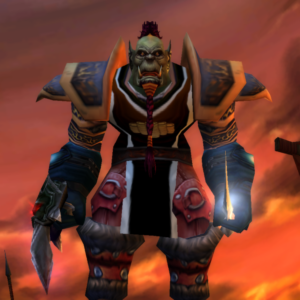 Orc male Rogue 60