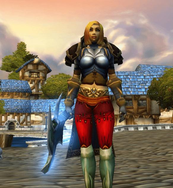 Human female Warrior 60