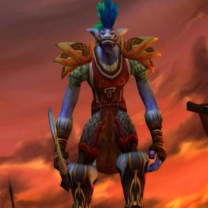 Troll male Hunter 60