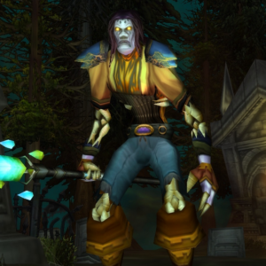 Undead male Priest 60