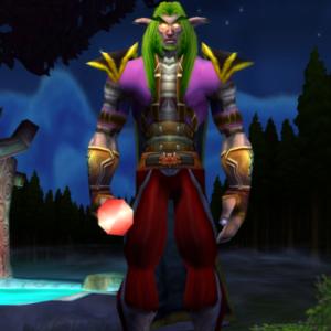 Night Elf male Priest 60