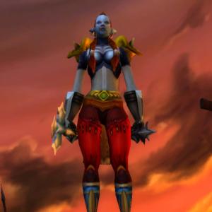 Troll female Warrior 60