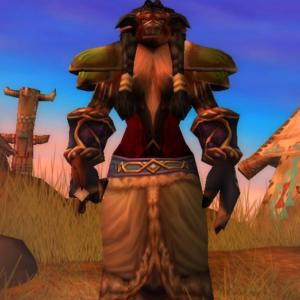 Tauren female Druid 60