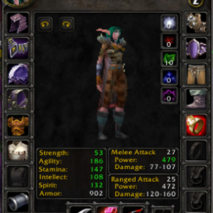 Night Elf female Hunter 60