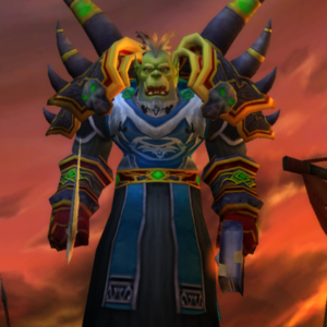 Orc male Warlock 60