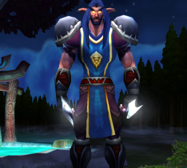 Night Elf male Rogue 60