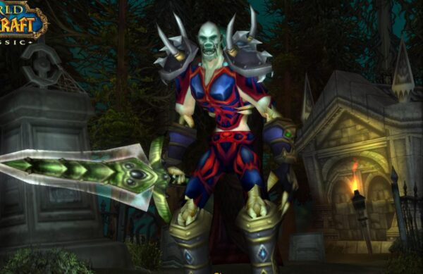 Undead male Warrior 60