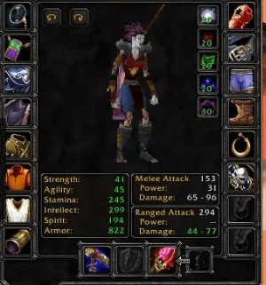Undead female Mage 60