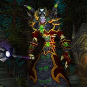 Undead male Warlock 60