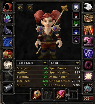 Gnome female Warlock 60