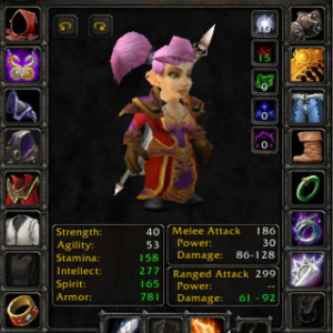 Gnome female Warlock 60