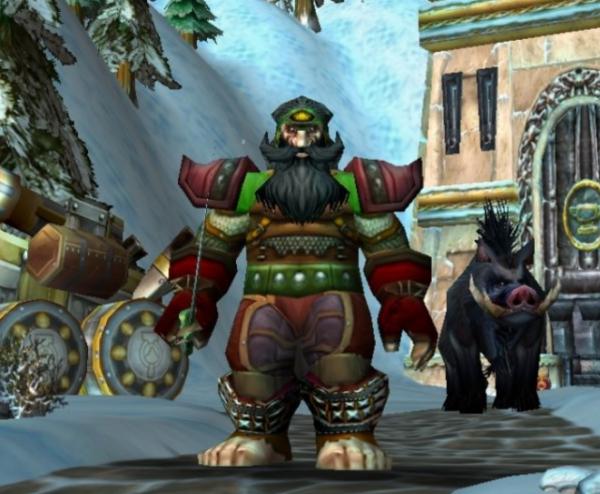 Dwarf male Hunter 60