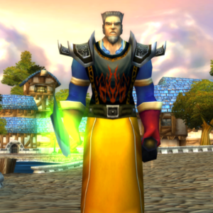 Human male Mage 60