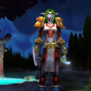 Night Elf female Warrior 60