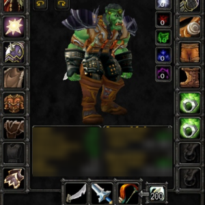Orc male Hunter 60