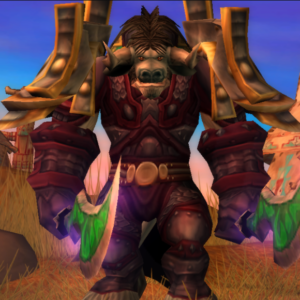 Tauren male Hunter 60