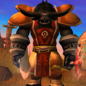 Tauren male Warrior 60