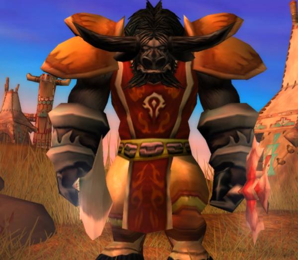 Tauren male Warrior 60
