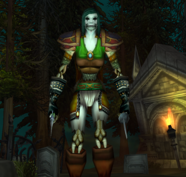 Undead female Rogue 60