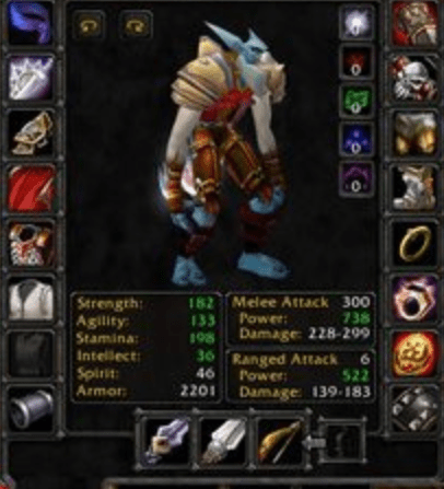 Troll male Warrior 60