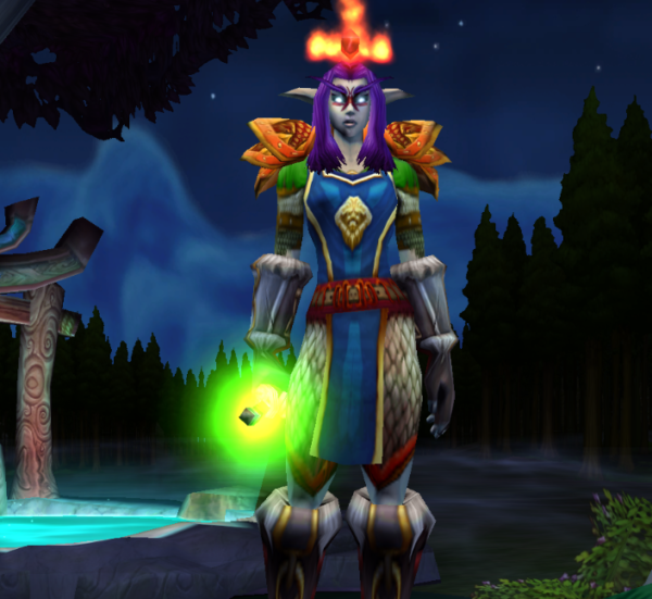 Night Elf female Hunter 60
