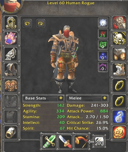 Netherwind PvP - Human male Rogue - Safe Account by METAMMO Team [1398]