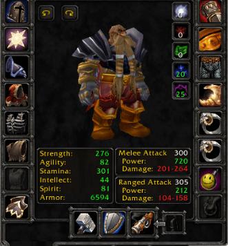 Dwarf male Warrior 60