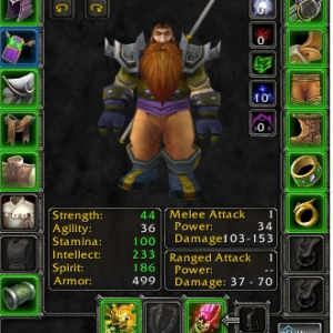 Netherwind PvP Dwarf male Priest - Safe Account by METAMMO Team [1408]