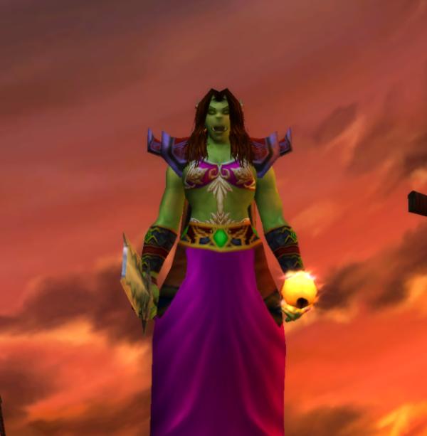 Orc female Warlock 60