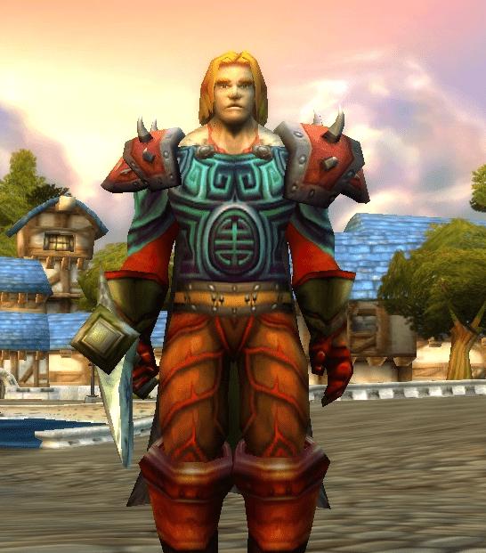 Human male Warrior 60