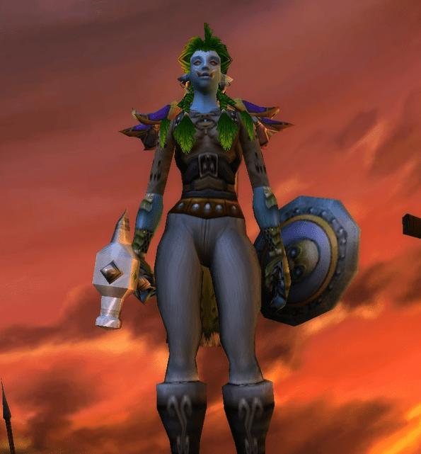 Troll female Shaman 60