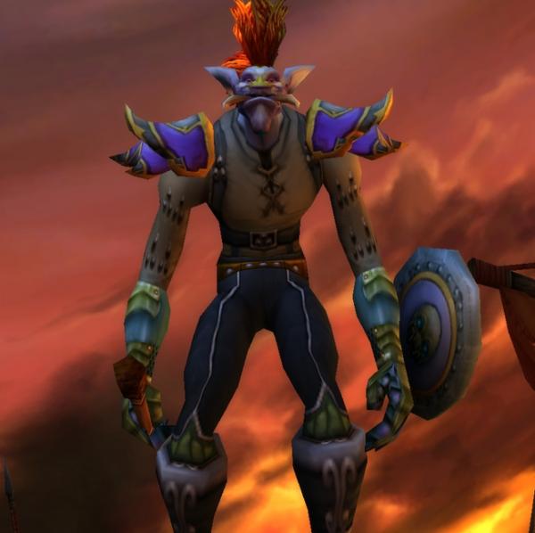 Troll male Shaman 60