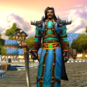 Human male Warlock 60