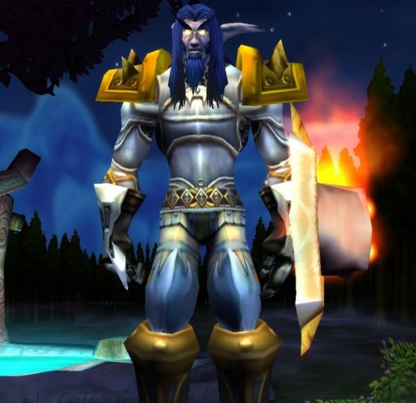 Night Elf male Warrior 60
