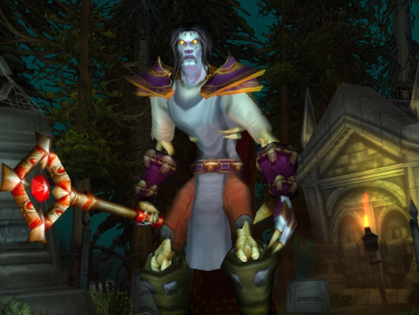 Undead male Mage 60