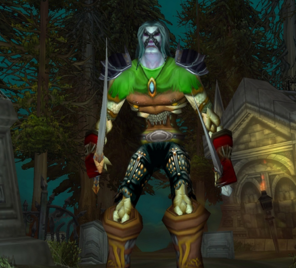 Undead male Rogue 60