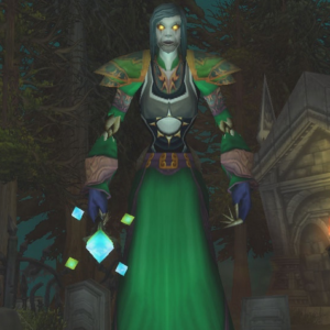 Undead female Mage 70