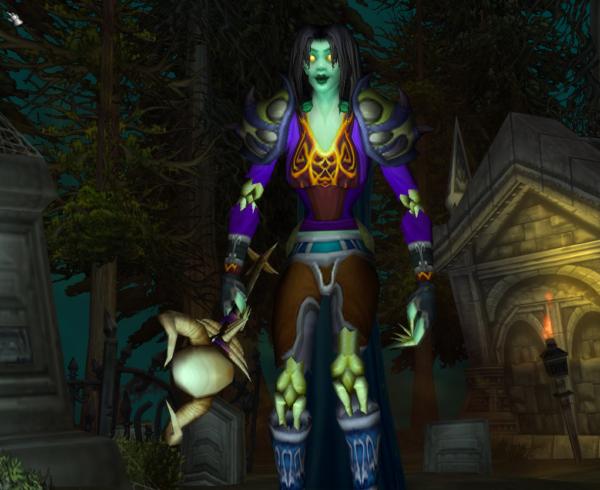 Undead female Warlock 70
