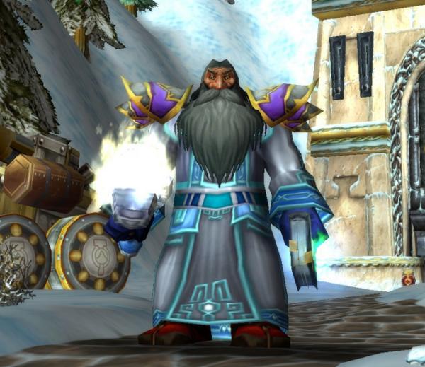 Dwarf male Priest 70