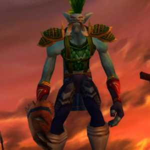 Troll male Hunter 70