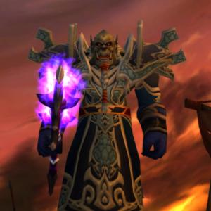 Orc male Warlock 70