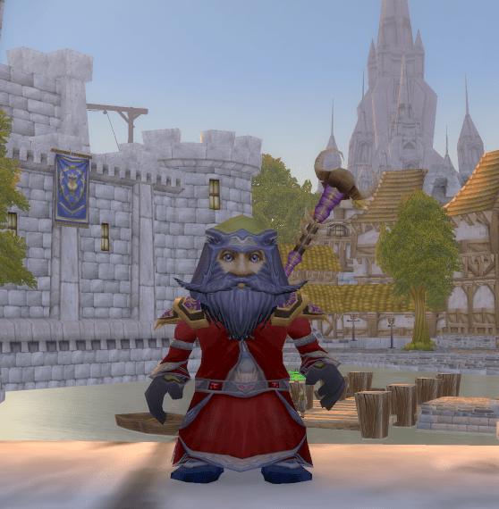 Gnome Male Mage 70