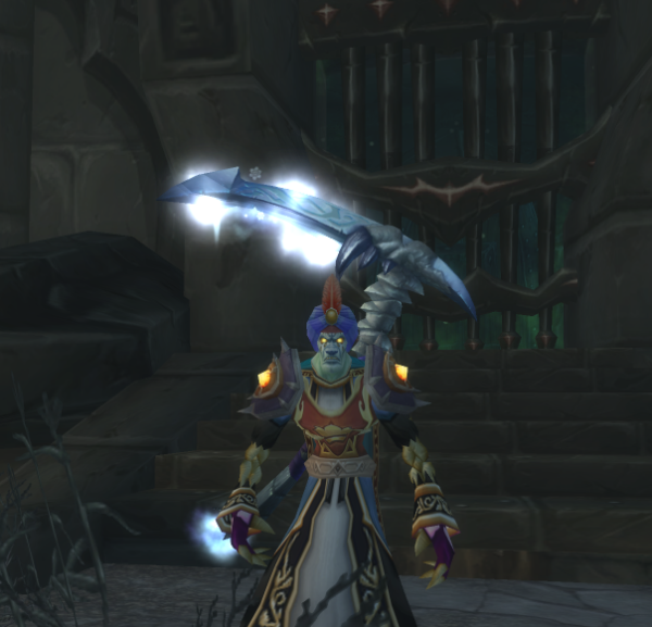 Undead male Priest 70